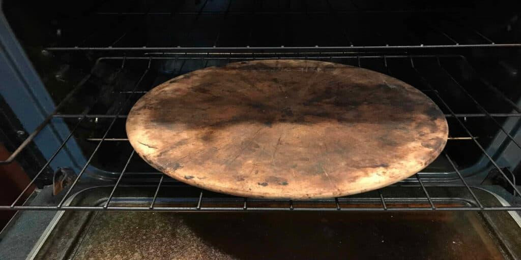 Seasoning A Pizza Stone
