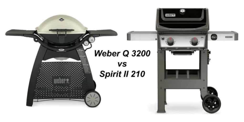 Weber Q3200 Vs Spirit II E 210