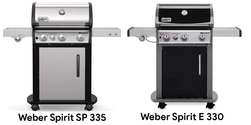 Spirit SP 335 Vs E 330
