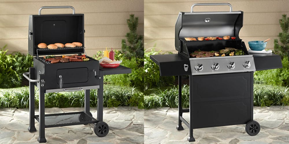 Table shelves of Gas Grills