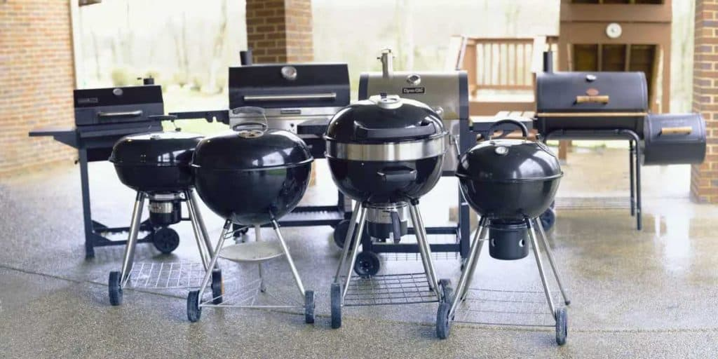Types Of Charcoal Grill